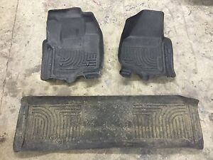 Husky moulded floor mats F-250 or 350 (08to15)