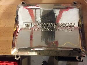 GMC/Chevy polished air box cover
