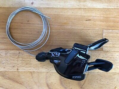 Sram X9 2x10 Speed Left and Right Trigger Shifters