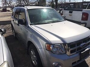 2008 FORD ESCAPE XLT SUV,  $2200.00 AS IS BEFORE RECONDITIONING