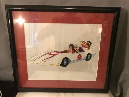 Speed Racer Enterprises Lithograph  Framed