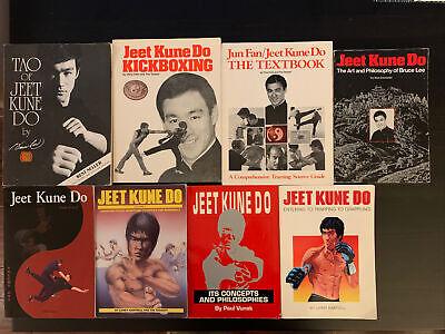 Bruce Lee Jun Fan Jeet Kune Do Entering Trapping Grappling Kickboxing Tao Books