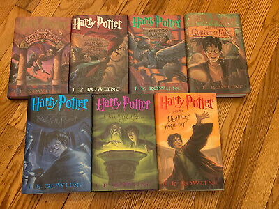 Harry Potter Book Collection: All Books American First Edition
