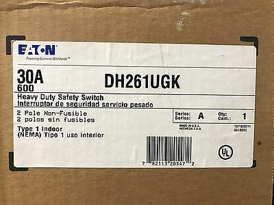 Eaton Cutler-hammer Dh261ugk Safety Switch  Nib - Free Shipping