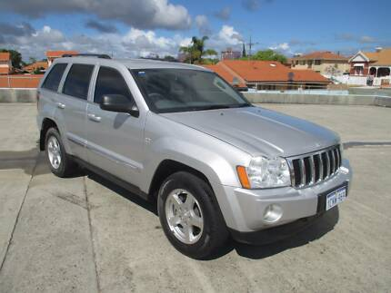 2006 JEEP GRAND CHEROKEE 4X4 AUTO QUADRADRIVE LIMITED WAGON