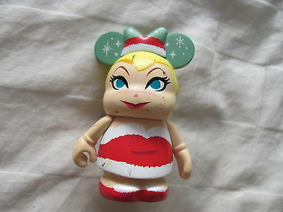 "DISNEY VINYLMATION Holiday 2014 Santa Tinker Bell Vinylmation 3"" Figurine"