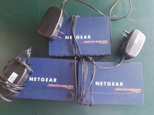 Netgear Prosafe 8 Port Gigabit Switch GS108