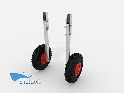Slipräder SL-400 Transporträder für Schlauchboot - Räder d=260mm