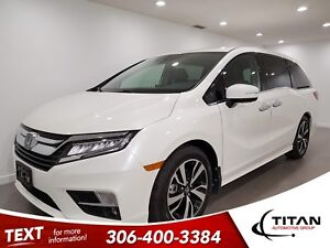2018 Honda Odyssey Touring|V6|CAM|NAV|Leather|Sunroof