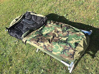 US Army Modular Sleeping Bag System Schlafsack Woodland 4 teilig Gore Tex MSS