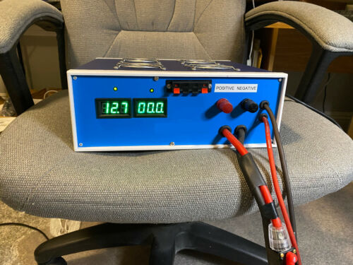 """REGULATED POWER SUPPLY 12.8VDC @ 234 AMPS    """" NEW WITH WARRANTY"""""""