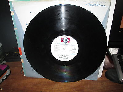 """THE TEMPTATIONS """" LOOK WHAT U STARTED"""" MOTOWN PROMO COPY"""