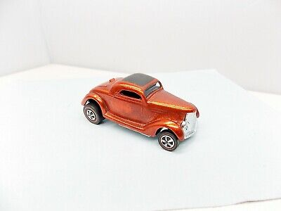 Hot Wheels Classic 36' Ford Coupe - Red - AWESOME - Vintage Redline