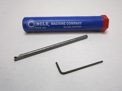 Circle Machine Company Fcbi-187-4-5r 4 Oal Coolant Fed Indexable Boring Bar
