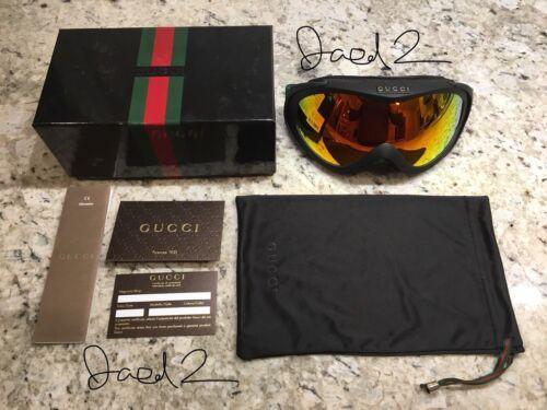 new! rare auth. gucci ski gogg... Image 1