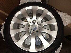 """17"""" rims with all season tire"""