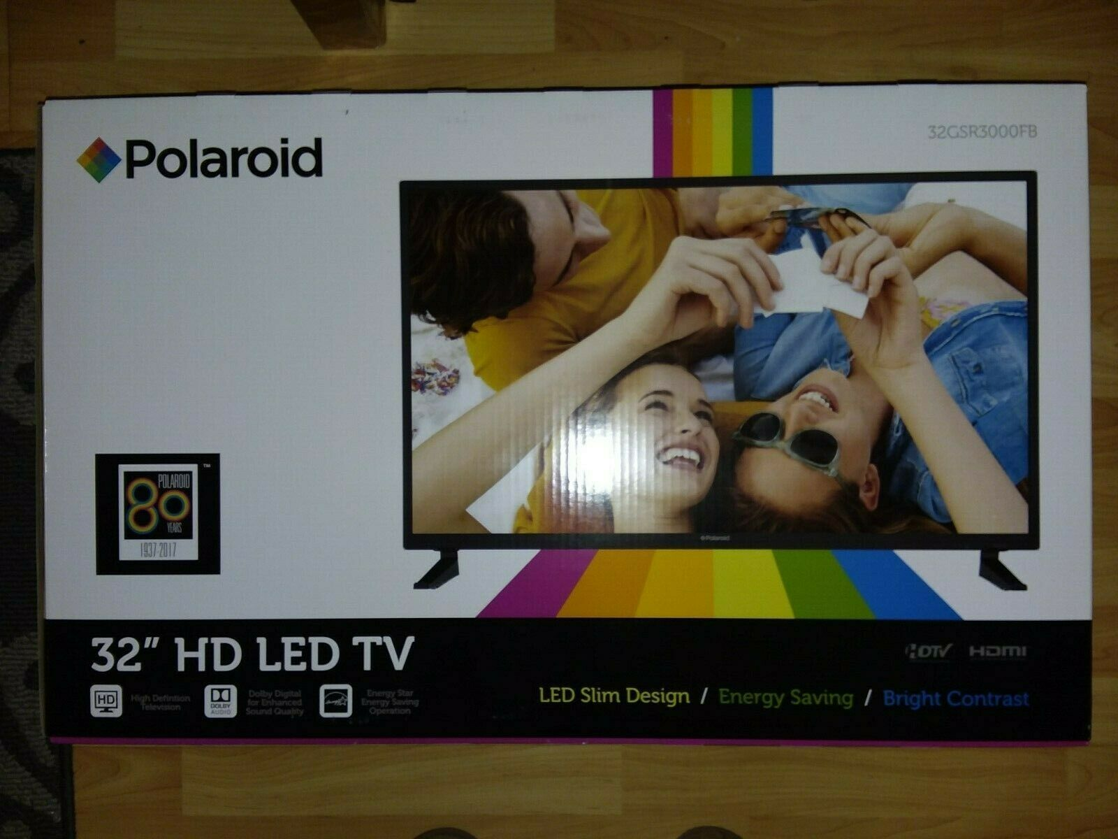 "Polaroid 32GSR3000FB 31.5"""" 720p LED Television (2016) Black"