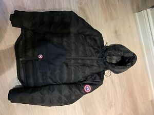 100% authentic Canada Goose jacket with hat