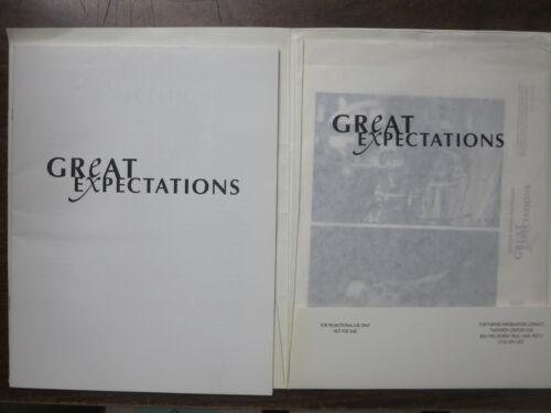Great Expectations (1998) Press Kit Gwyneth Paltrow Ethan Hawke Robert DeNiro