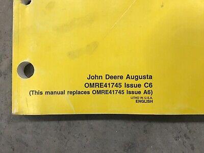 John Deere Jd 5200 5300 5400 And 5500 Tractors Operators Manual Omre41745 C6