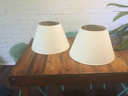 Metal lampshade frames for diy other home decor gumtree two lampshades greentooth Images