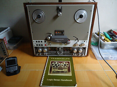 EXTREMELY RARE FERROGRAPH LOGIC 7 DOLBY SYSTEM BBC REEL TO REEL TAPE DECK