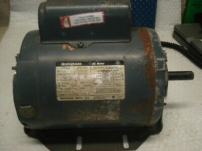Westinghouse 12hp Ac Electric Motor 1425 Rpm D56 Frame 115230v Single Phase