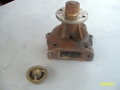 Allis Chalmers Water Pump And Thermostat 180 185 190 190xt D-21 74007554 100039