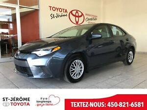 2016 Toyota Corolla * 67 052KM * AIR * BLUETOOTH * GR.ELEC. *