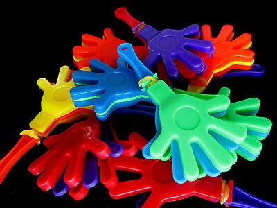 Snowman -8 Mini Hand Clappers- Party Favors  Birthday Pinata Prizes - Snowman Favors