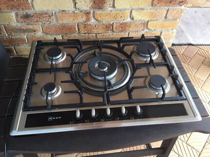 Neff 5 Burner Gas Cooktop. As New