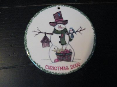 Henn 2000 Christmas Ornament 5th in Limited Edition Ornament Series Numbered 10