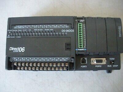 Automation Direct D0-06dd2 Direct Logic Plc 12-24vdc