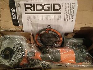 RIDGID Angle Grinder (Unused Open Box) corded