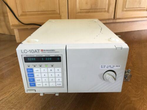 pump SHIMADZU HPLC  LC-10AT Liquid Chromatoraph LC-10A Chromatography