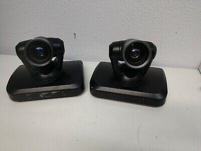 Lot 2x Vu Telepresence Sigmavu Ptz M 0910 1080p Ent Video Camera Missing Adapter
