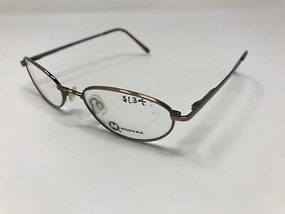Modern Eyewear Jewel Eyeglass Frame Ant Brown 50-18-140 Sleek Flex DR66