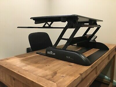Sanitized Surplus Varidesk Pro Plus 36 Height Adjustable Standing Desk Converter