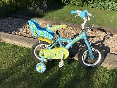 "Kids Apollo Honeybee 12.5"" tyres..8.5"" frame Bike with Stabilizers"