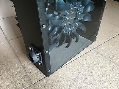 Kleinstwasserkraftwerk 1100 Watt - Pelton Wasserturbine Wasserrad Generator KWK