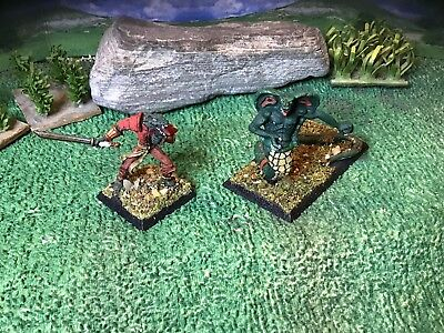 Clan War Naga Viper & Abomination (2) 25mm for sale  McHenry