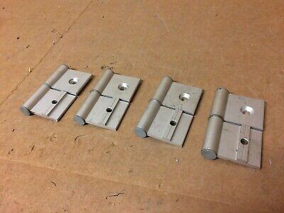 Set Of 4 Item Left-hand Door Hinges For Profile 8 Aluminum Extrusion 8020