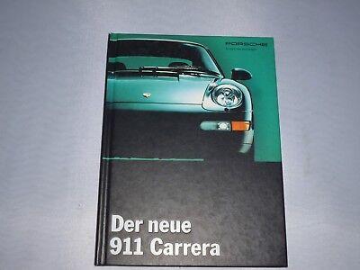 originales Porsche Buch / Broschüre  911 Carrera