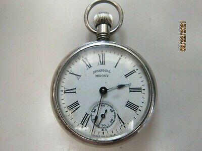 RARE INGERSOLL 1909 MIDGET POCKET WATCH(30791-WATCH-MS)