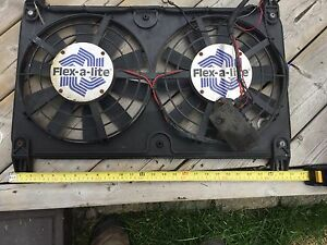 Electric cooling fans