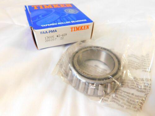 NOS Timken Tapered Roller Bearing FAA-PMA 13685 *2-629