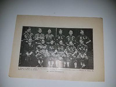 Louis University Baseball - St. Louis University 1911 Baseball Team Picture SP  RARE