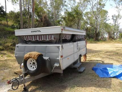 Coromal off road rally 410 camper trailer