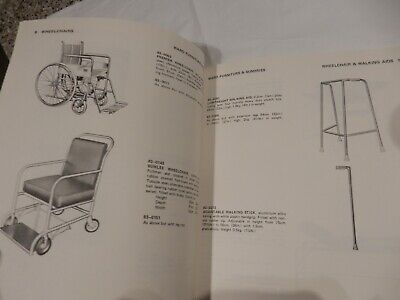 THACKRAY LEEDS SURGERY HOSPITAL  trade catalog    1970S ERA WARD FURNITURE
