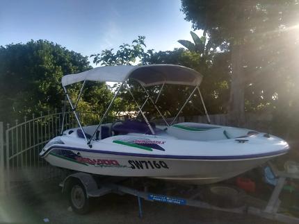 Seadoo speedster jetboat bowrider